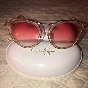 Beautiful Ombré Rose Gold Sunglasses